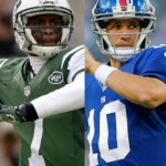 Geno Smith and Eli Manning